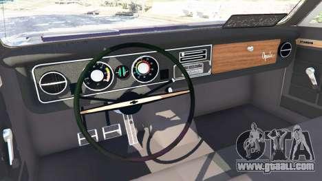 GTA 5 Chevrolet Opala Gran Luxo right side view