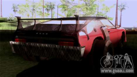 Ford Falcon XA Red Bat Mad Max 2 for GTA San Andreas left view