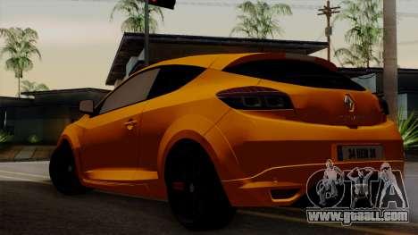Renault Megane Sport HKNgarage for GTA San Andreas left view