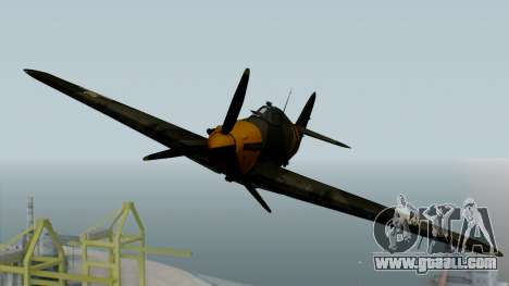 Hawker Hurricane Mk1 - Romania Nr. 1 for GTA San Andreas right view
