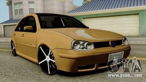 Volkswagen Golf 2004 Edit for GTA San Andreas