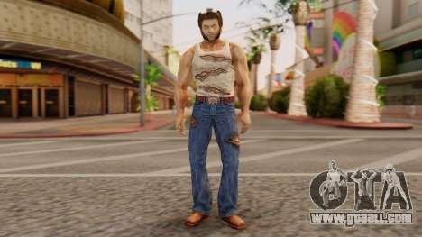 Wolverine v1 for GTA San Andreas second screenshot