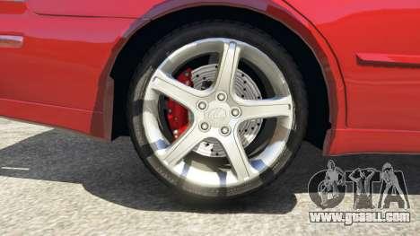 GTA 5 Lexus IS300 rear right side view