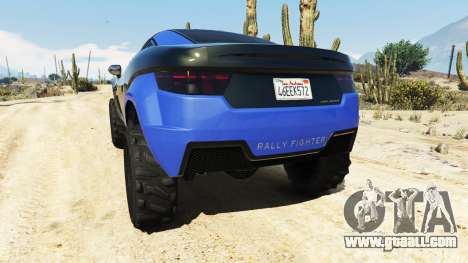 GTA 5 Coil Brawler Local Motors Rally Fighter rear left side view