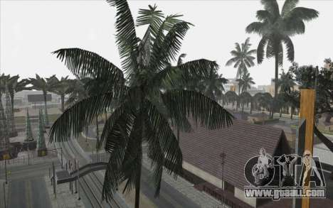 Trees from WarFace for GTA San Andreas forth screenshot