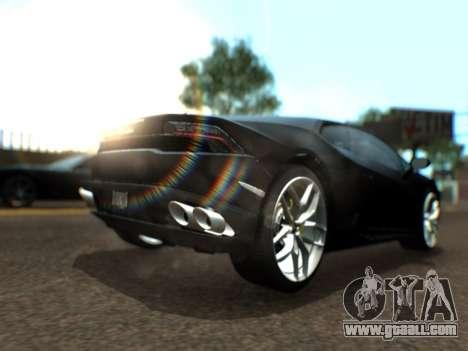 Lime ENB 1.3 for GTA San Andreas third screenshot