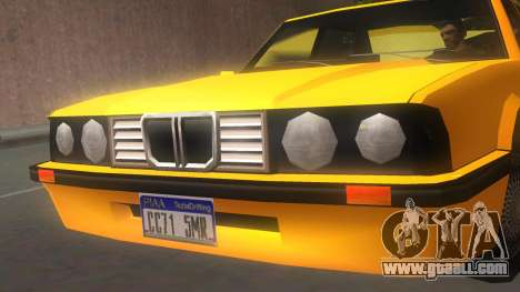 Vincent E30 for GTA San Andreas back left view
