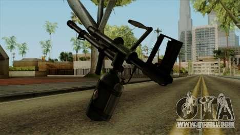 Original HD Flame Thrower for GTA San Andreas second screenshot