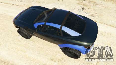 GTA 5 Coil Brawler Local Motors Rally Fighter back view