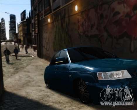 VAZ 2110 for GTA 4 inner view
