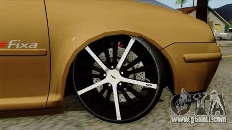 Volkswagen Golf 2004 Edit for GTA San Andreas back left view