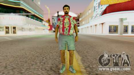 Tourist for GTA San Andreas second screenshot