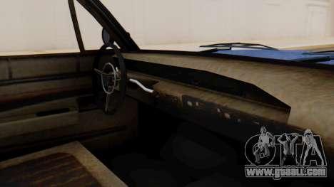 GTA 5 Declasse Voodoo Worn IVF for GTA San Andreas right view