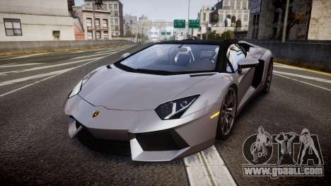 Lamborghini Aventador Roadster for GTA 4