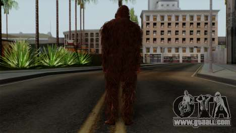 GTA 5 Bigfoot for GTA San Andreas third screenshot