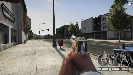 GTA 5 Asiimov Pistol.50 fifth screenshot
