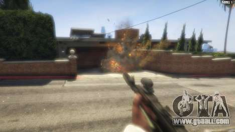 GTA 5 Battlefield 4 AK-12 tenth screenshot