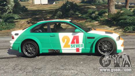 GTA 5 BMW M3 GTR E46 PJ3 left side view