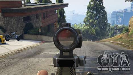 Battlefield 4 AK-12 for GTA 5