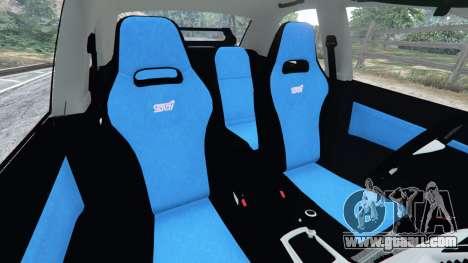 GTA 5 Subaru Impreza WRX STI 2005 front right side view