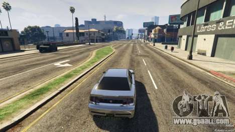 GhostAndreas for GTA 5