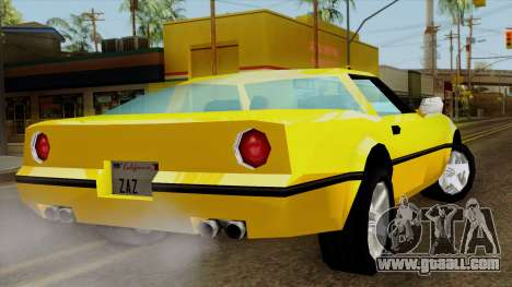 Banshee from Vice City Stories for GTA San Andreas left view