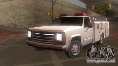 FDSA Fire Van for GTA San Andreas