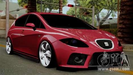 Seat Leon Cupra Static for GTA San Andreas
