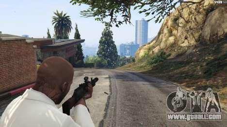 GTA 5 Battlefield 4 AK-12 third screenshot