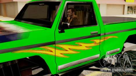 Monster New Texture for GTA San Andreas back left view