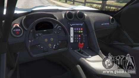 GTA 5 Dodge Viper GTS-R SRT 2013 [Beta] right side view