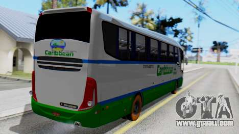 Marcopolo Bus Caribbean Travel for GTA San Andreas left view