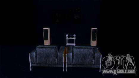 Retextured interior of the mansion MADD Dogg for GTA San Andreas sixth screenshot