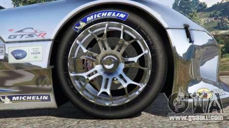 GTA 5 Dodge Viper GTS-R SRT 2013 [Beta] rear right side view