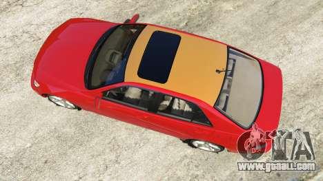 GTA 5 Lexus IS300 back view