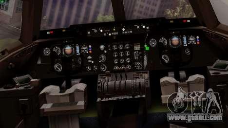 DC-10-30 Swissair for GTA San Andreas inner view