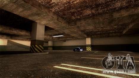 New LSPD Parking for GTA San Andreas sixth screenshot