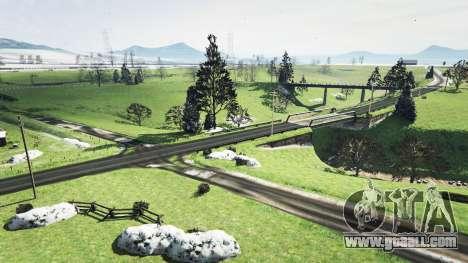 GTA 5 North Yankton without snow v1.1 fourth screenshot