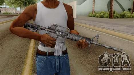 Original HD M4 for GTA San Andreas third screenshot
