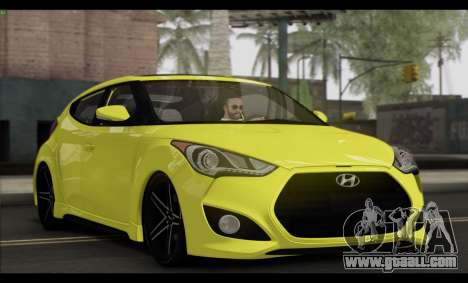 Hyundai Veloster 2012 for GTA San Andreas