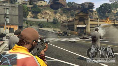 GTA 5 The army instead of the police on 5-stars v1.3.4 eighth screenshot