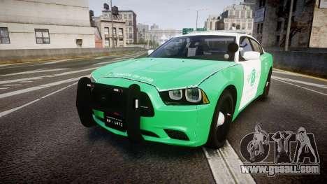 Dodge Charger Carabineros de Chile [ELS] for GTA 4