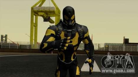 Ant-Man Yellow Jacket for GTA San Andreas