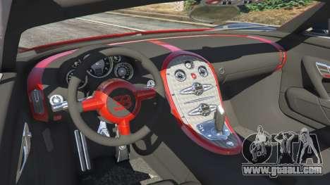 Bugatti Veyron Grand Sport v3.3 for GTA 5
