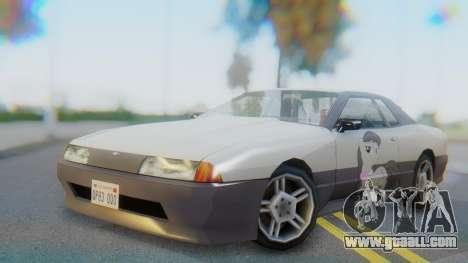 Elegy Octavia Pony Vinyl for GTA San Andreas