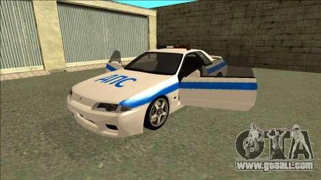 Nissan Skyline R32 Russian Police for GTA San Andreas engine
