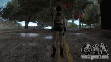 Resident Evil HD - Rebecca Chambers Cowgirl for GTA San Andreas