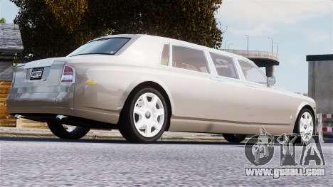 Rolls-Royce Phantom LWB for GTA 4 upper view