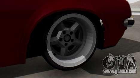 Opel Manta B1 for GTA San Andreas back left view