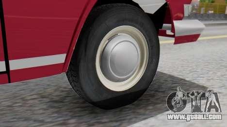 GAZ 21 Volga v3 for GTA San Andreas back left view